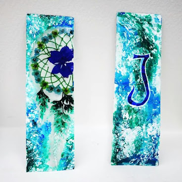 Dreamcatcher Pressed Flower Bookmark