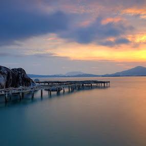 Kota Belanda Village, Lumut Perak, Malaysia by Adi Affendi - Landscapes Sunsets & Sunrises