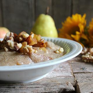 Cinnamon Apple & Pear Amaranth Porridge