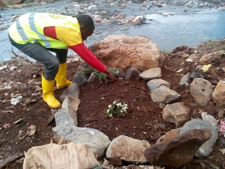 Image result for nairobi river clean up