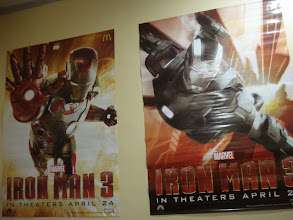 Photo: Iron Man 3 posters in Rayne's room.