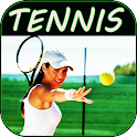 Learn to play tennis. Play tennis from scratch icon