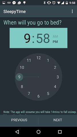 android SleepyTime Plus Screenshot 2