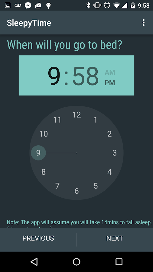 SleepyTime Plus- screenshot
