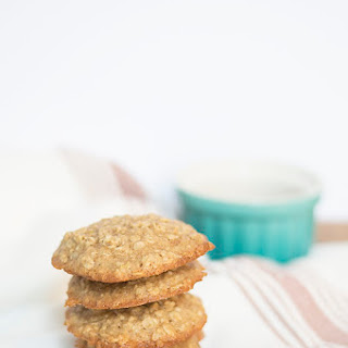 Caramelized Ginger Oatmeal Cookies.