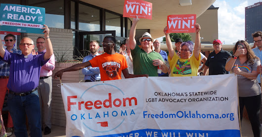 OKC Celebrates SCOTUS Marriage Equality Ruling
