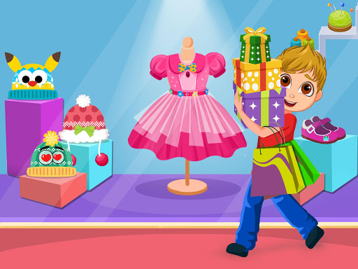 Baby Tailor Fashion Dress Up Shop screenshot 3