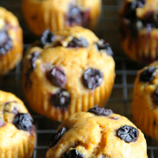 Lemon Blueberry Greek Yogurt Muffins.