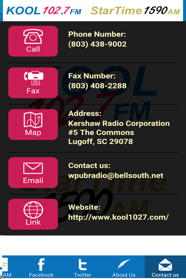 KOOL 102.7 FM- screenshot