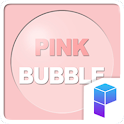 Pink Bubble Launcher Theme icon