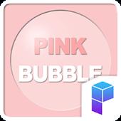 Pink Bubble Launcher Theme