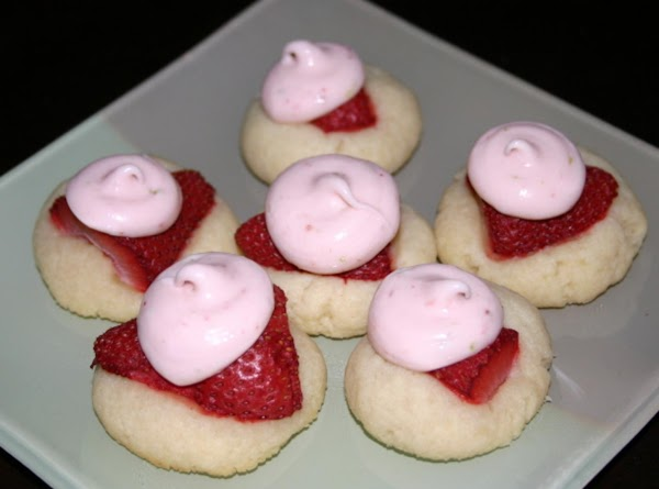 Red And White Cookies Recipe