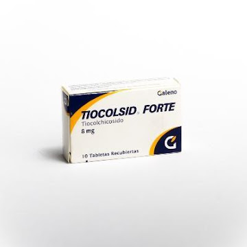Tiocolsid Forte 8Mg.