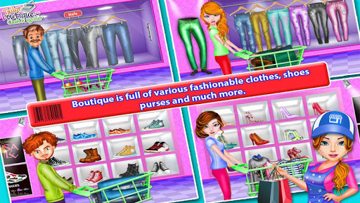 Tailor Boutique Cash Register  screenshots 4