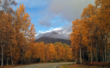 Photo: Fall Colors: Hatcher Pass Road