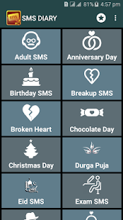 SMS DIARY : Message collection- screenshot thumbnail