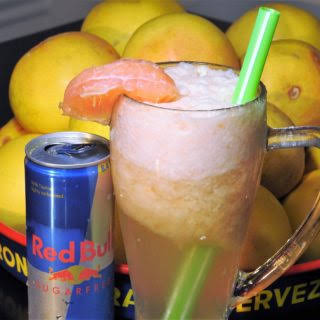 Red Bull Grapefruit Spritzer.