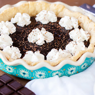 Yoder's Amish Chocolate Pie.