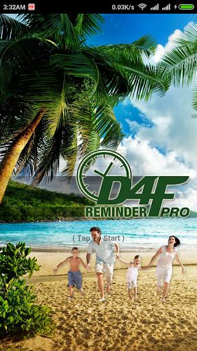 D4F Reminder Pro
