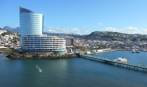 Martinique port.jpg - The magical port of Martinique seen from Silver Muse.