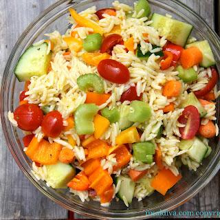 Stuffed Orzo Salad