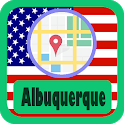 USA Albuquerque City Maps icon