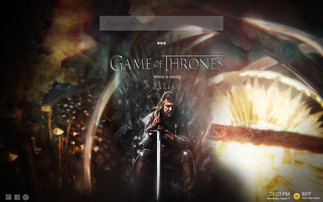 Game Of Thrones Themes NewTab