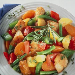 Geflügel-Gemüsetopf