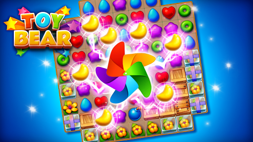 Toy Bear Sweet POP : Match 3 Puzzle apkpoly screenshots 17