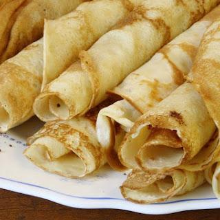 Hungarian Savory Pancakes Recipe - Palacsinta.