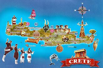 Photo: Карта острова Крит
