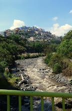 Photo: A view of an Ambato hillside