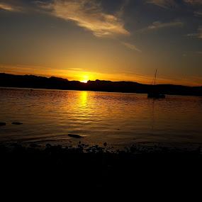 Pikes by Nick Hogg - Landscapes Sunsets & Sunrises ( lake district, mountain, sunset, lake, landscape )
