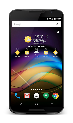 Chronus-Informations-Widgets screenshot 5