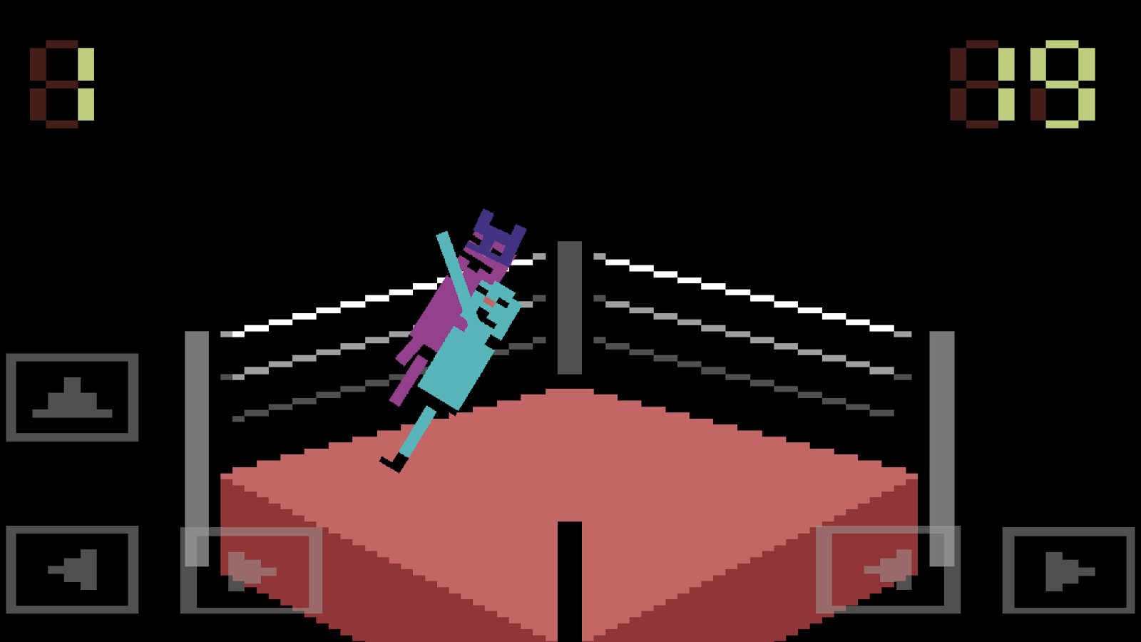 Wrassling - Wacky Wrestling- screenshot