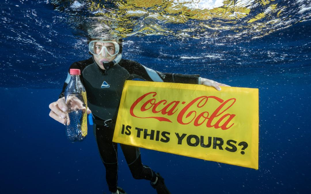 Image result for pepsi plastic pollution