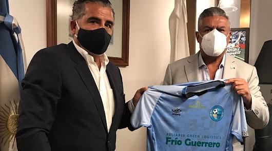 El CD El Ejido estrecha lazos con el fútbol argentino