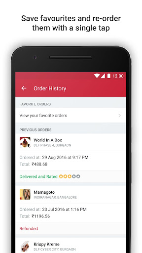 Food Ordering & Delivery App app (apk) free download for Android/PC/Windows screenshot