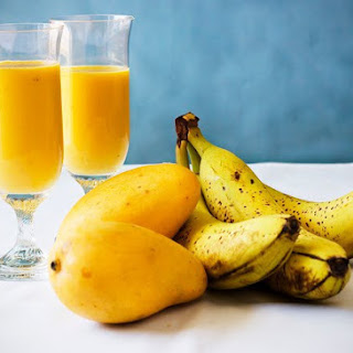 Banana Mango Smoothie Milk Recipes