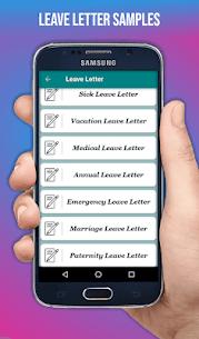 Letter Templates Offline – Letter Writing App Free 3