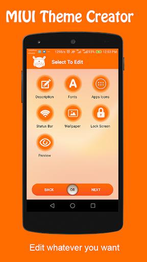 Theme Creator For MIUI 1.13.4 screenshots 1