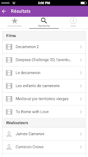 Box Office Cinéma France- screenshot thumbnail
