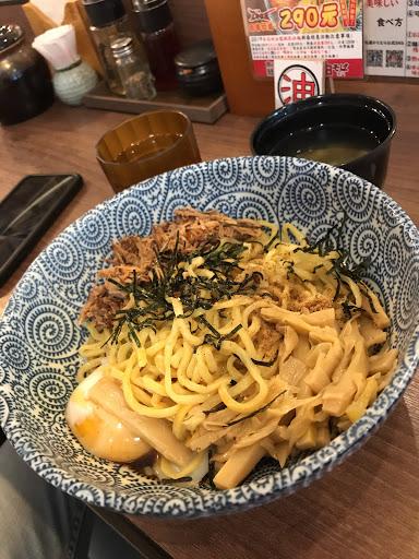 日式乾拉麵,味道很豐盛