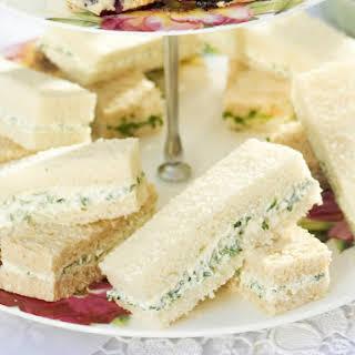 Vegetarian Tea Sandwiches Recipes.