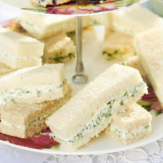 Vegetarian Tea Sandwiches Recipes.