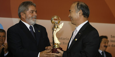 Lula and the President of Good Nighbours International