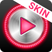 MusiX Hi-Fi Pink Skin for music player