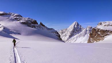 Photo: La Cudera glacier