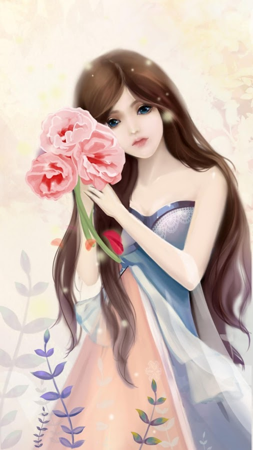 Gentle girl live wallpaper android apps on google play gentle girl live wallpaper screenshot voltagebd Image collections