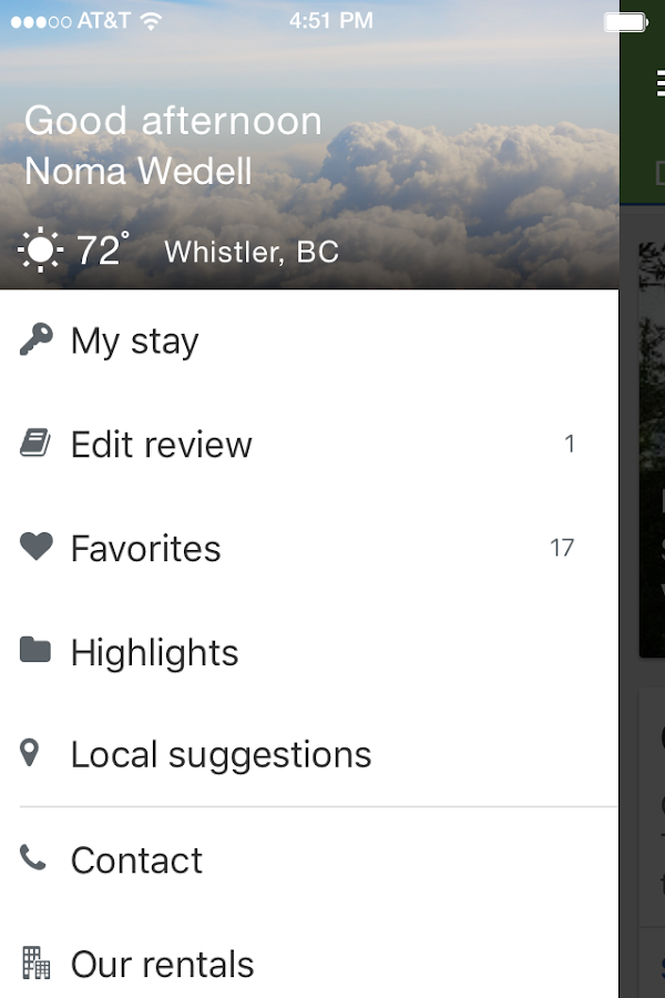 Blackcomb Peaks Accommodations- screenshot